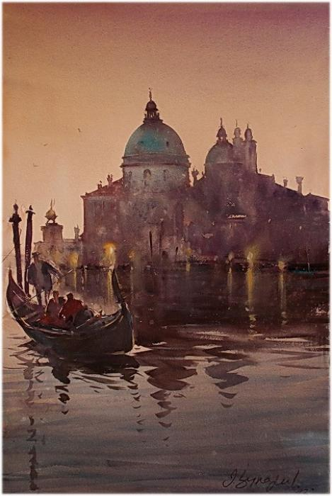 In society gondoliers
