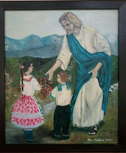 Jesus with Children 1