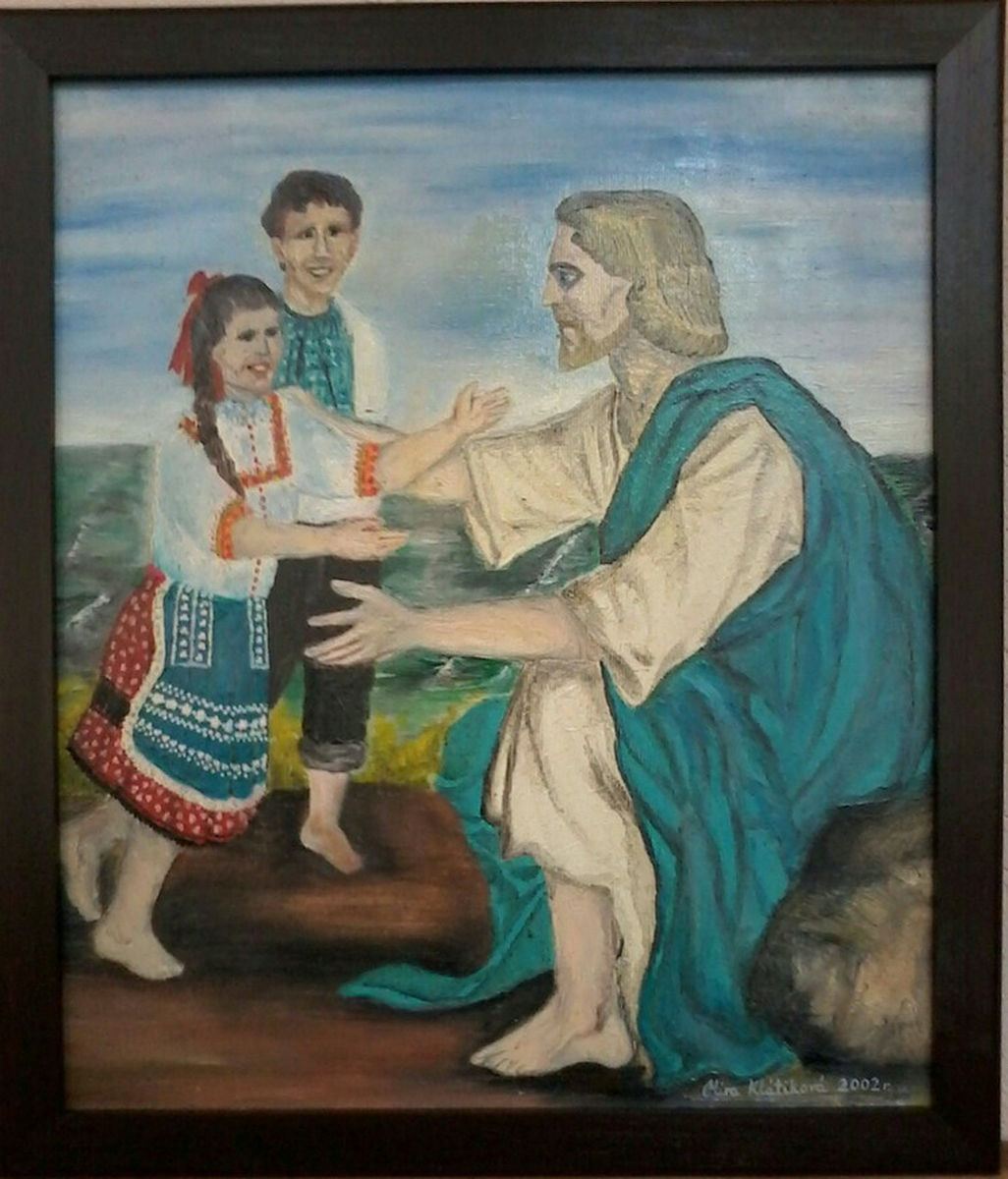 Jesus with Children 2