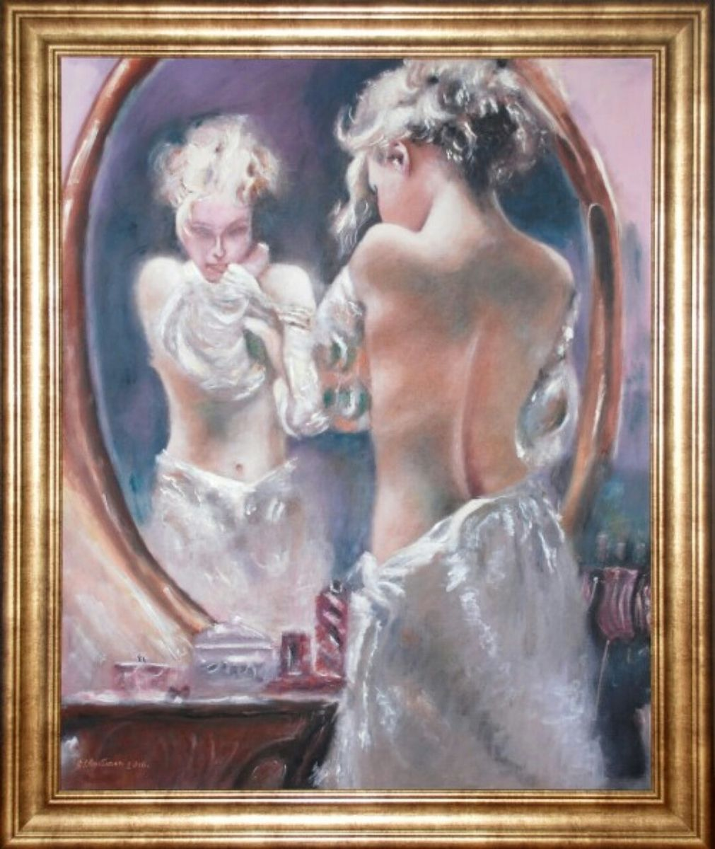 Lady in front of the Mirror - 2