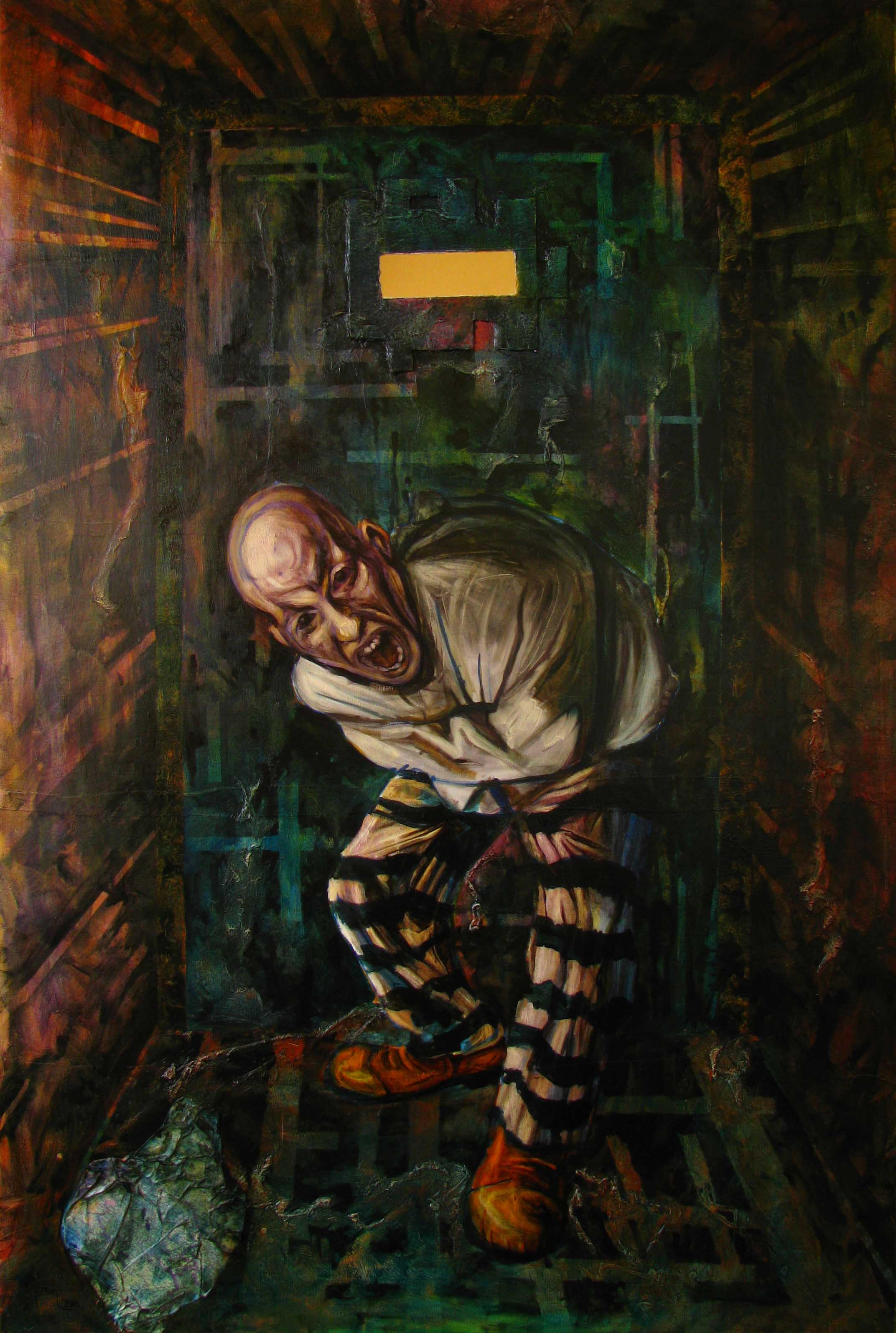 Madness Oil On Canvas Glozic Milan Art For Sale