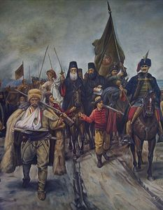Migration of Serbs.