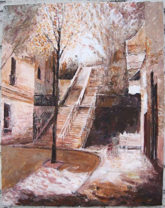 Montmartre, Steps, Paris