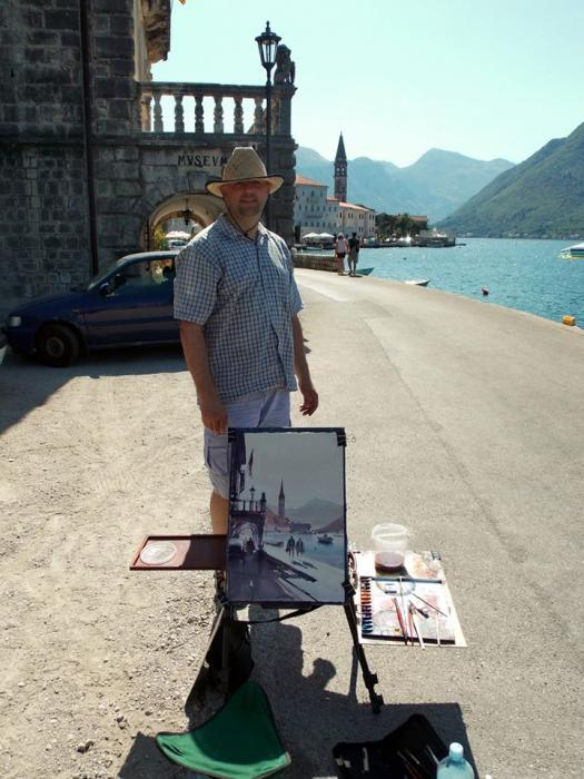 Morning in Perast  2