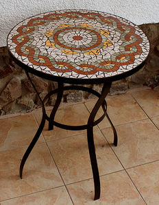 Mosaic Table 007