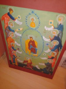 Mother od God with Christ and Prophets