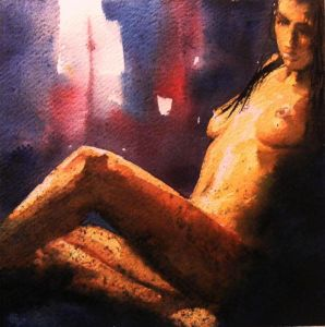 Nude-Fragments of light and shadows -33