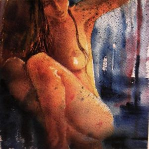 Nude-Fragments of light and shadows -34
