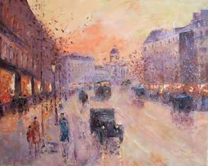On the Boulevard, 1930 y