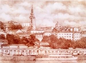 Panorama of Belgrade