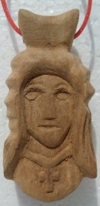 Pendant (Girl with a cross)