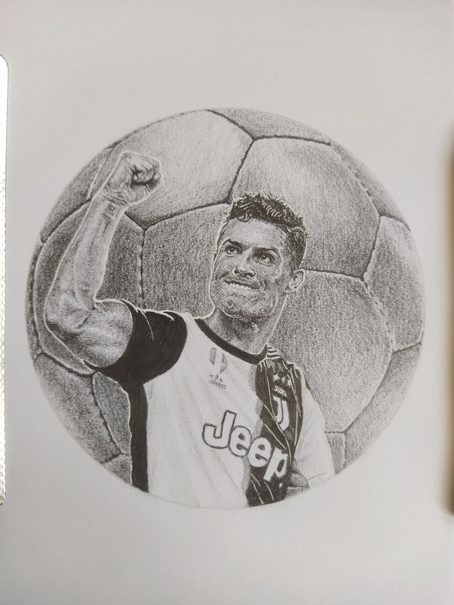 Portrait of Cristiano Ronaldo
