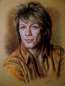 Portrait of Jon Bon Jovi