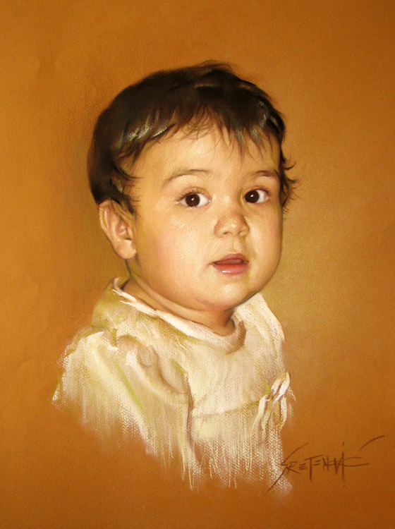 Portrait of little Jovana