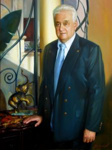 Portrait of Mr. V. Avramovic