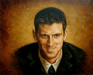 Portrait of Novak Djokovic