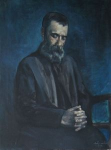 Portrait of Papadiamantis