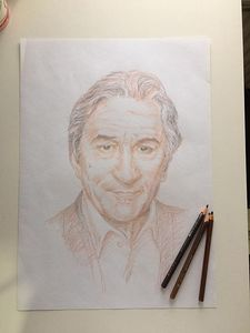 Portrait of Robert De Niro