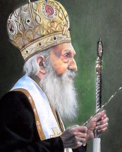 portrait of the patriarch