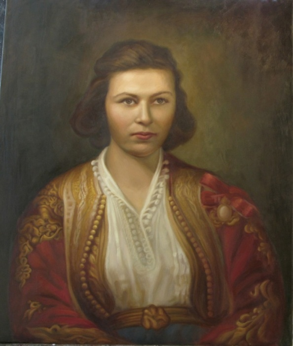 portret of mother