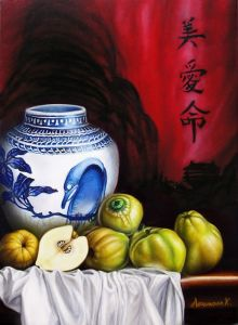 Quince - 70x50cm (oil on canvas)
