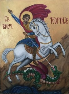 Saint George and the Dragon
