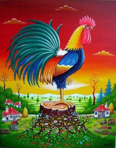 Serbian rooster
