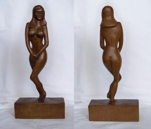 Shy Lady Sculpture
