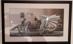 St. George kills dragon