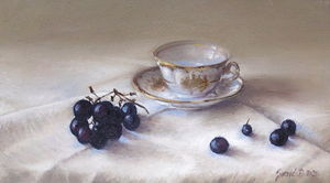 Still life- oil on canvas 20x35cm