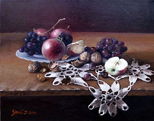 Still life- oil on canvas 37x47cm