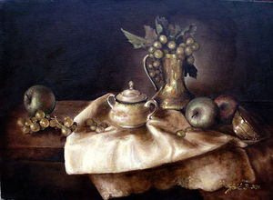 Still life- oil on canvas 45x55cm