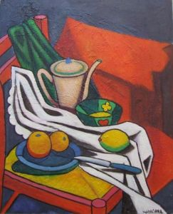 Still life with chair