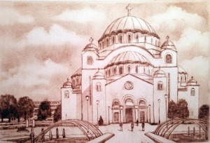 Temple Saint Sava, Belgrade
