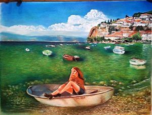 the nostalgia of the lake Ohrid