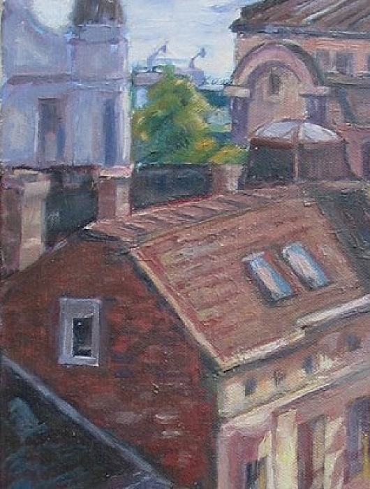 The Roofs of Savamala, Belgrade