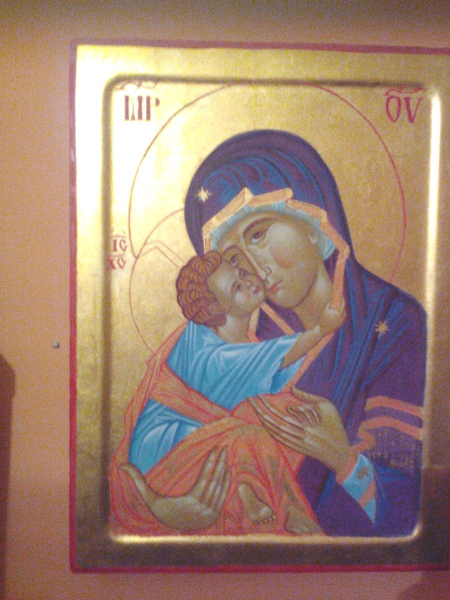 Theotokos with Christ Decani