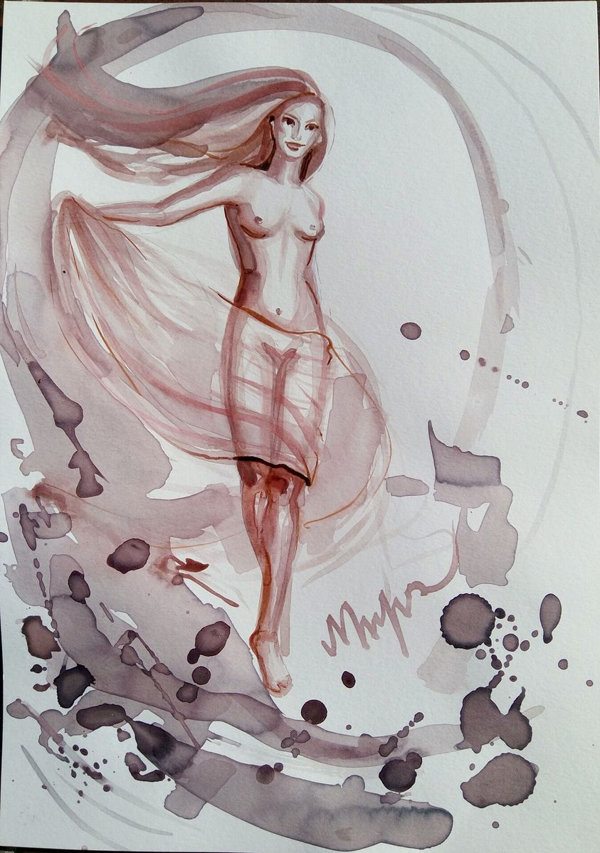 Venera, wine painting