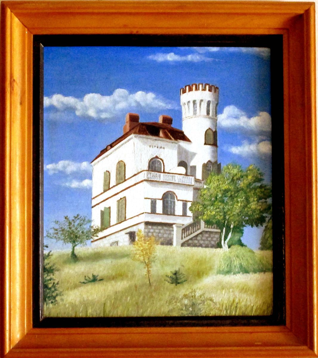 Villa on the top of the mount