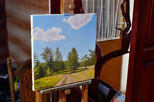 Walk in a Plein Air