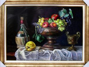 WINE AND FRUIT BASKET