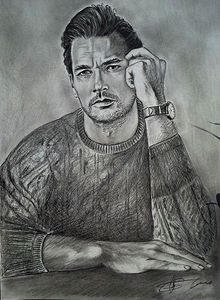 work in progress(David Gandy-model)