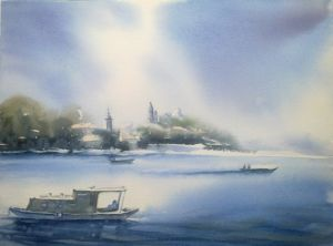 Zemun from the river 2