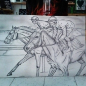 ~~The horse racing ~~